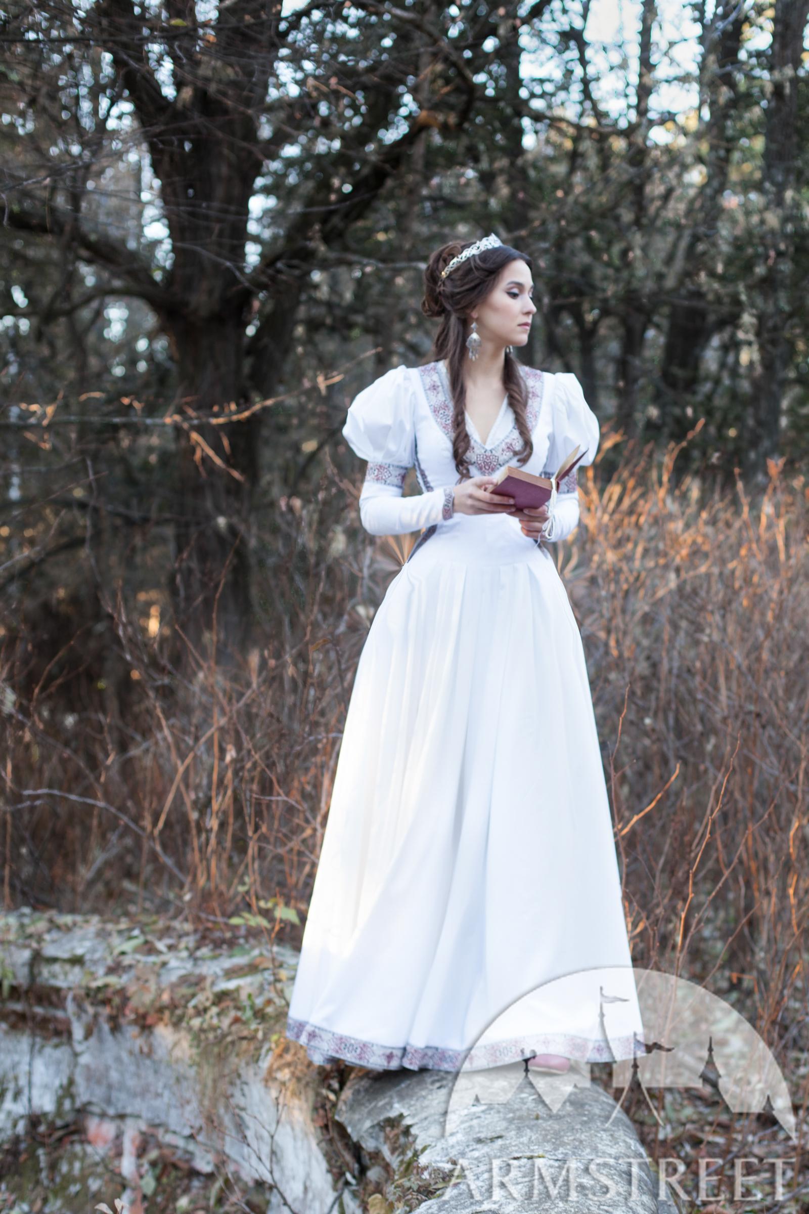 Mittelalter Gewand Die Gefundene Prinzessin Kleid Und