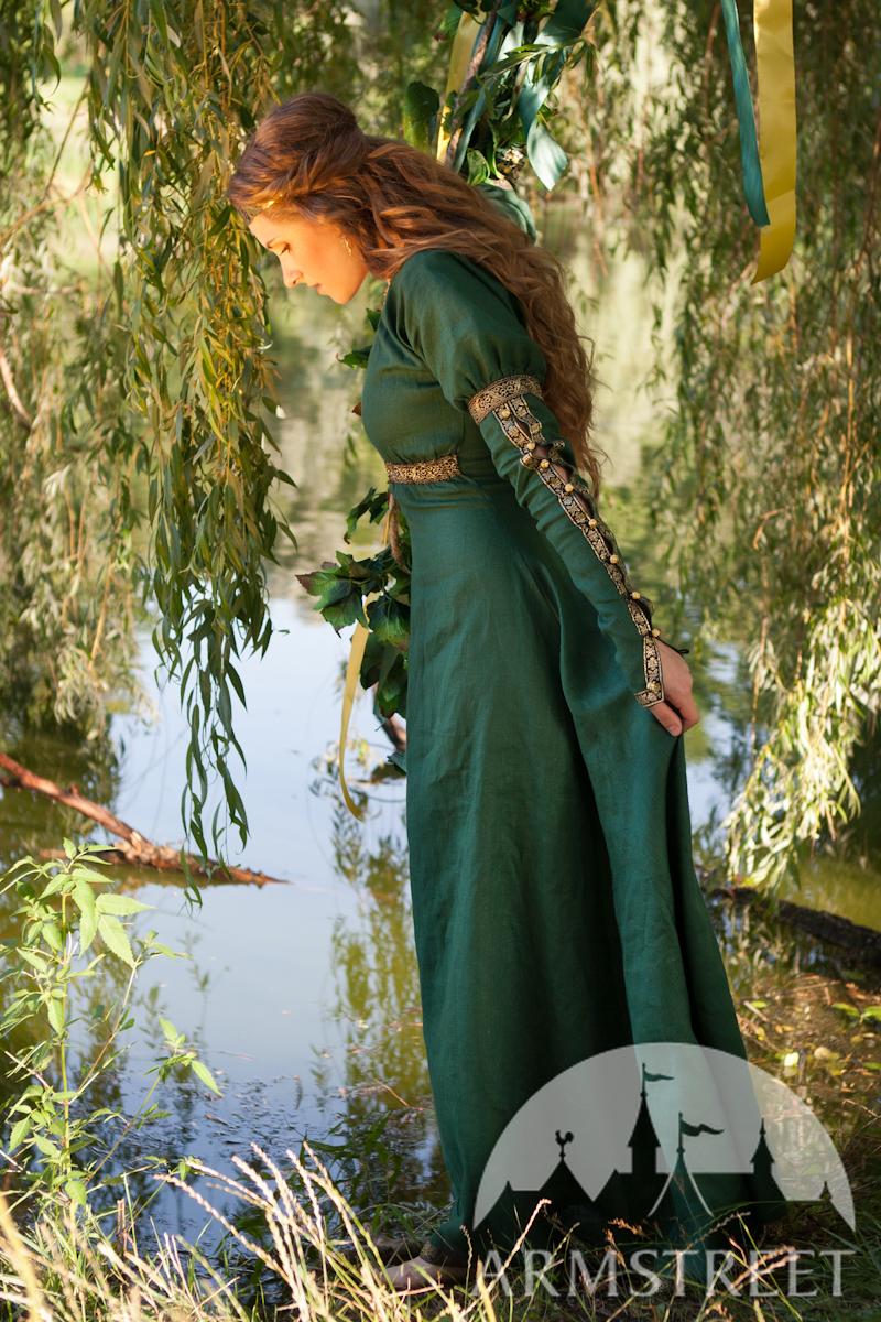 Mittelalter Kleid Quot Prinzessin Des Waldes Quot Vorhanden In
