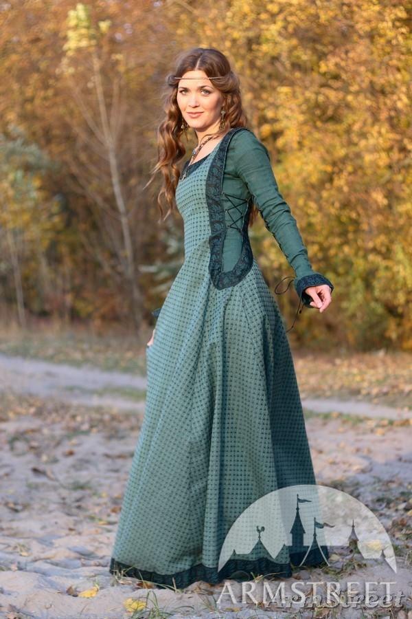 Damen kleider im mittelalter